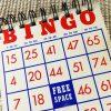 Bingo Card Notepad Closeup