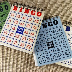 Bingo Card Notepads