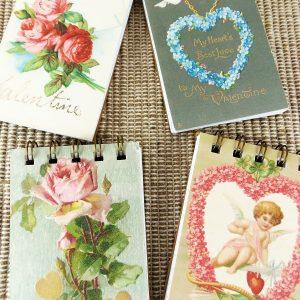 Vintage Valentine Notepads