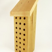 Mason Bee House - Side View