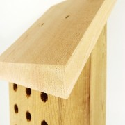 Top of Mason Bee House