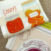 Canning Tea Towel Calendar Set