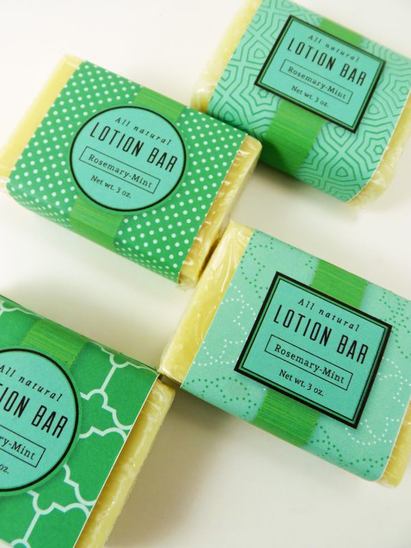 Rosemary Mint Lotion Bars