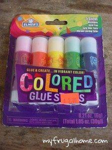 Colored Glue Sticks