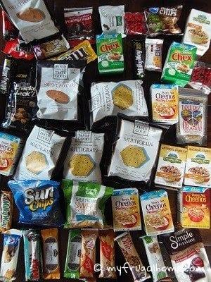 Free Vacation Snacks