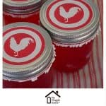 Use Cupcake Wrappers to Top Canning Jars