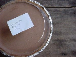 Chocolate Almond Pie