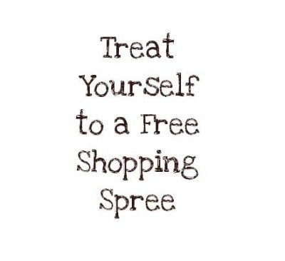 Treat Yourself to a Free Shopping Spree