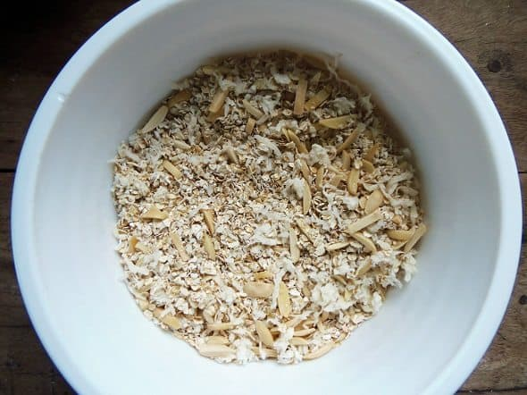 Combine the Oats, Coconut and Nuts