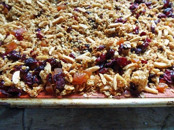 Add the Fruit to the Granola
