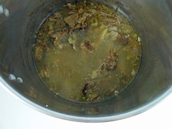 Allow Broth to Simmer for 2-3 Hours
