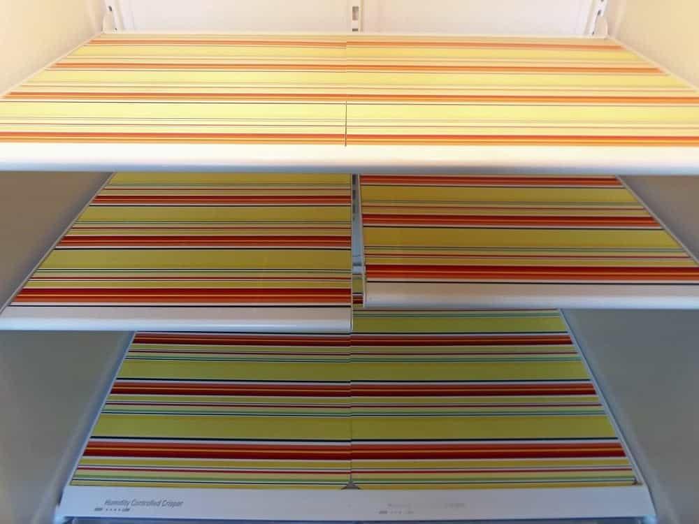 Fridge Shelf Liners Simple DIY Fridge Shelf Liners