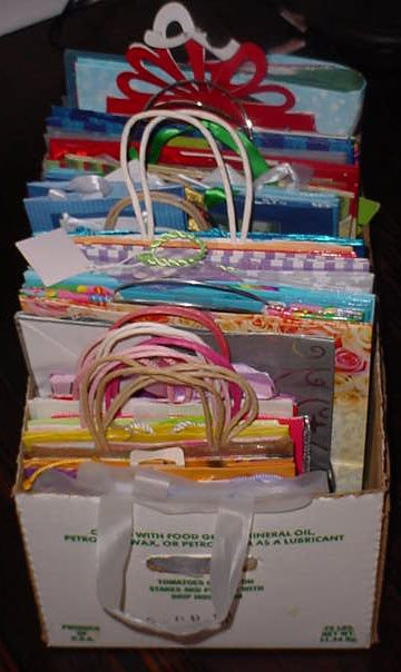 A Peek Inside My Gift Closet: Wrapping Supplies