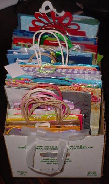 A Peek Inside My Gift Closet: Wrapping Supplies