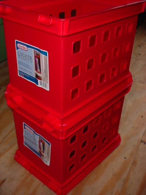 Sterilite Locker Crates