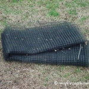 Curb Find: Landscape Netting