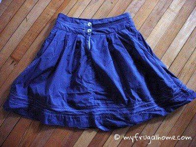 Redyed Skirt