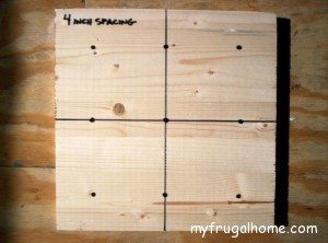 Mark the Position of Your Dowels