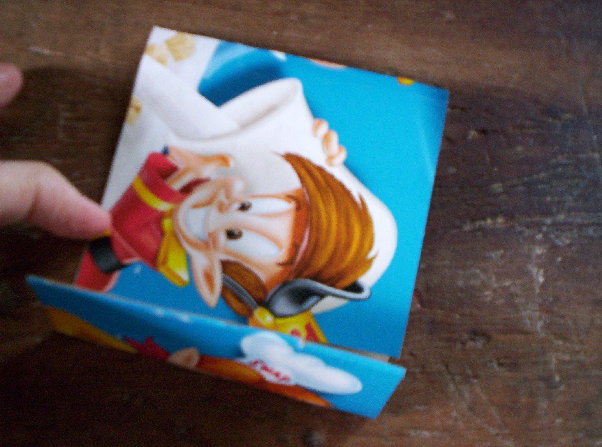 Cereal Box - Folded
