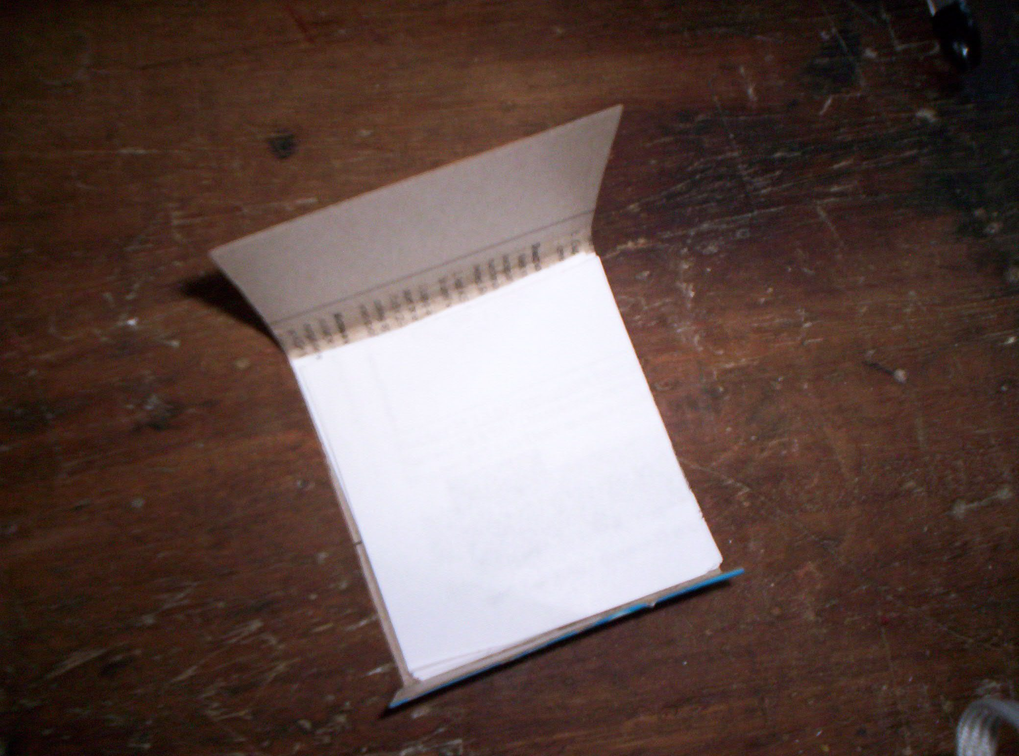 Make a Notepad