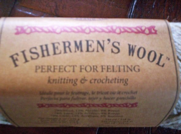 Fishermen's Wool Label