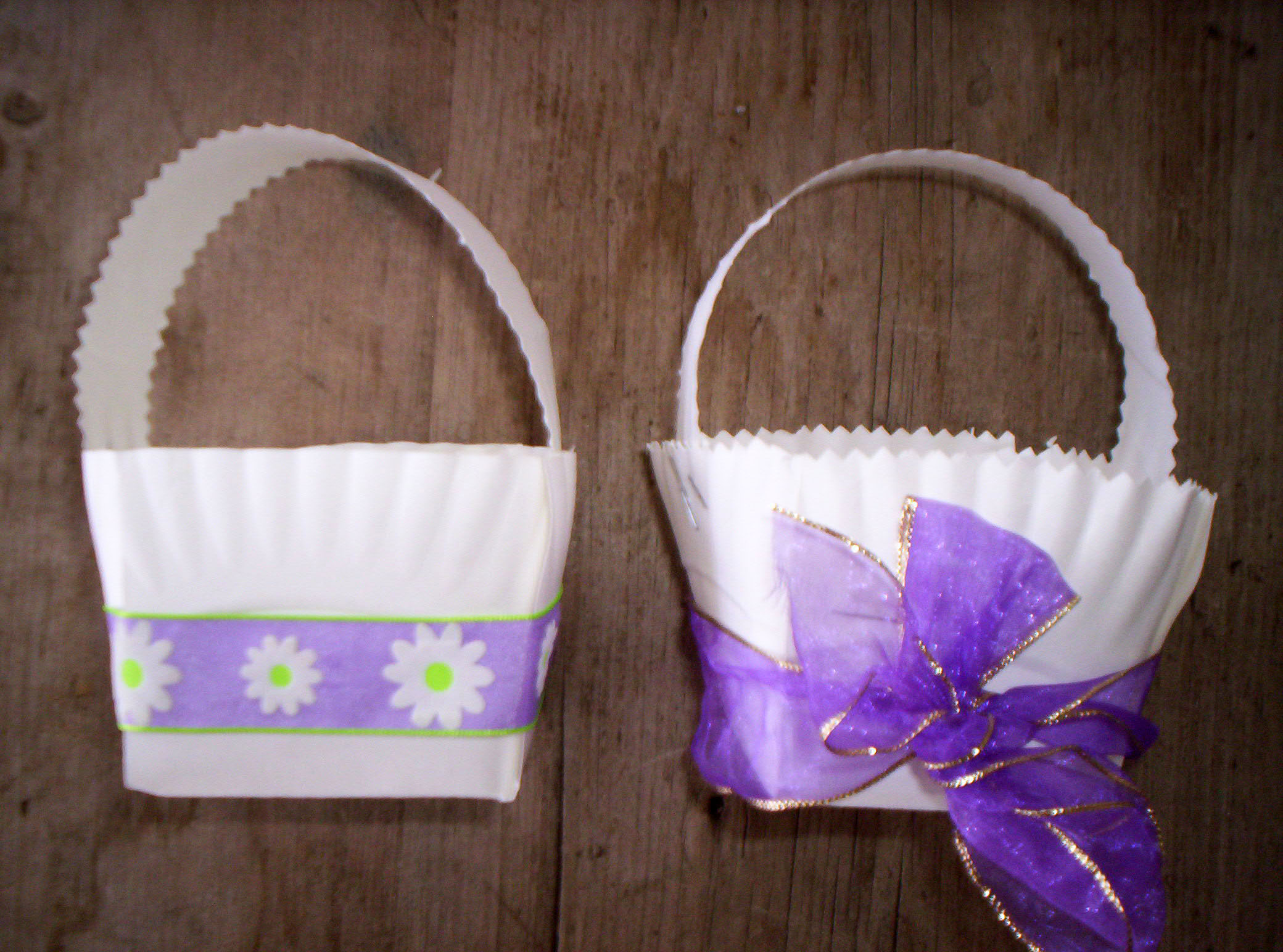 Paper plate baskets castrophotos paper plate easter baskets mightylinksfo