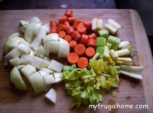 Veggies for Broth