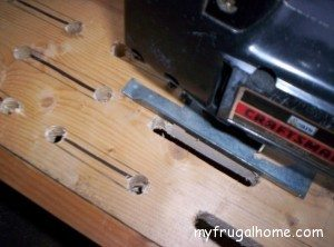 Finish Cutting the Slots with a Jigsaw