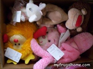 Stuffed Animals for Consignment