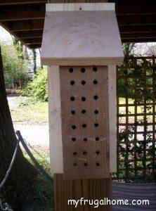 How to Build a Mason Bee House