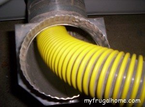 Vacuum Out the Dryer Exhaust Port