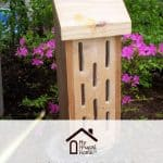 Homemade Butterfly House