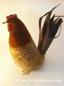 Bottle Brush Rooster