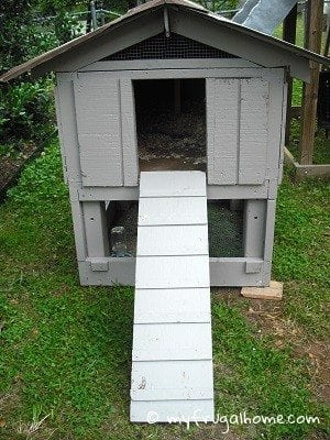 Turn a Dog House into a Chicken Coop