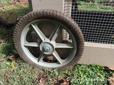 Chicken Tractor Wheels
