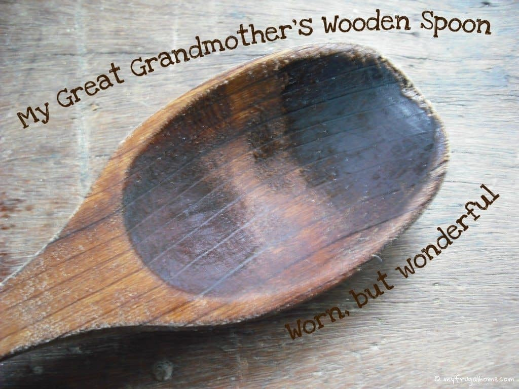 My Great Grandmothers' Wooden Spoon