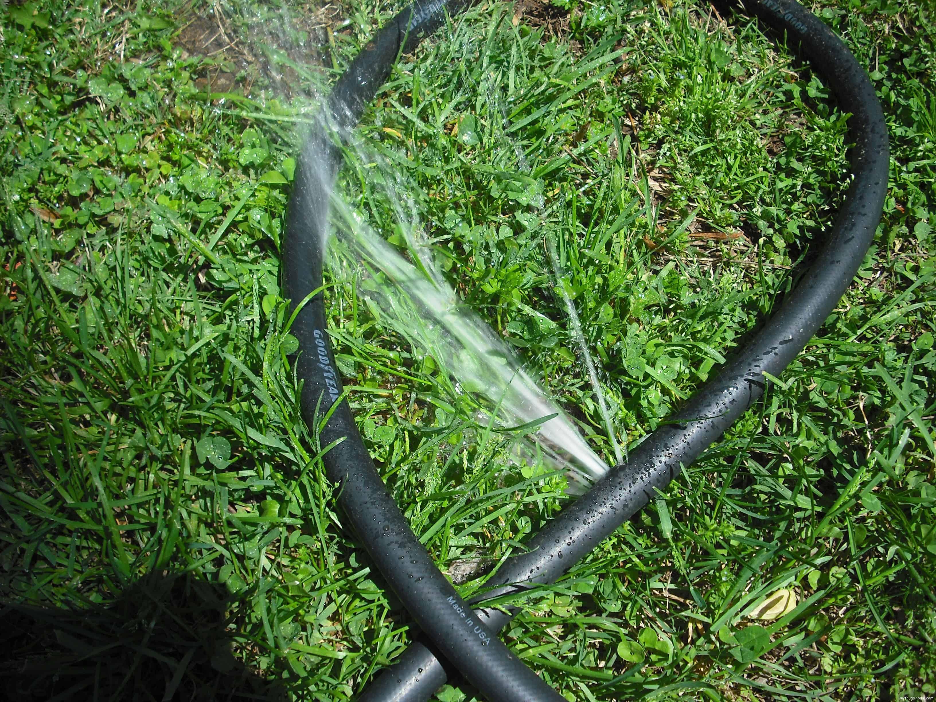 Leaky Garden Hose