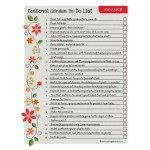 Summer Garden To Do List Index Pic