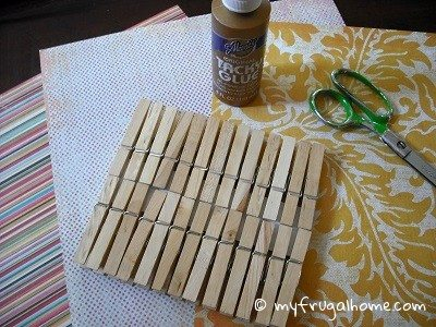 Decorate the Clothespins