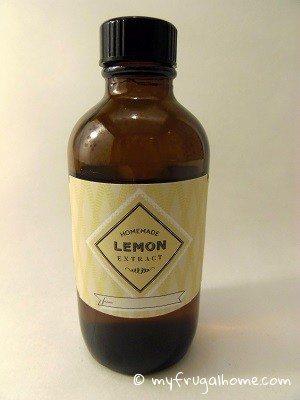 How to Make Lemon Extract
