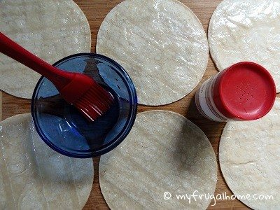 Oil the Tortillas