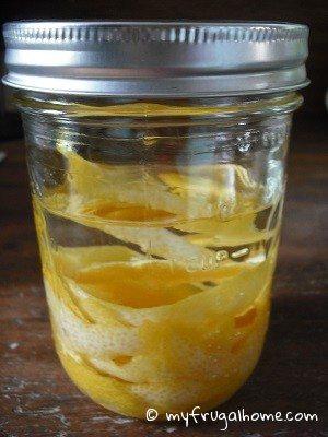Place Lemon Zests in Vodka