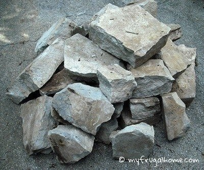 Curb Find: Landscaping Rocks