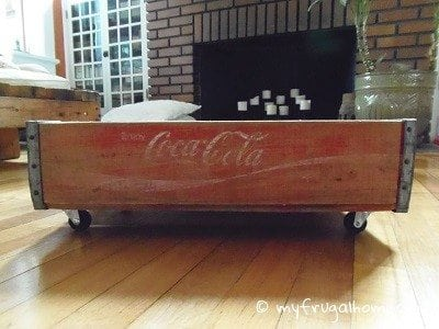 Soda Crate Rolling Storage