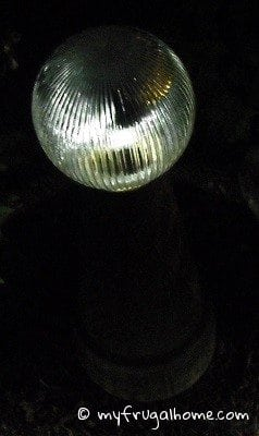 Make a Solar Gazing Ball