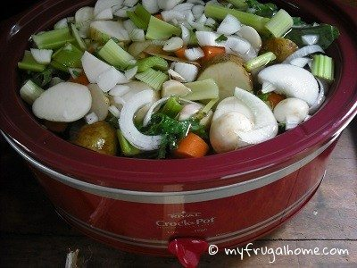 Veggies in Crockpot