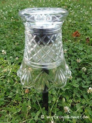How to Dress Up Cheap Solar Lights