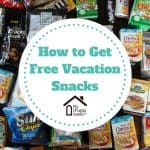 Free Vacation Snacks