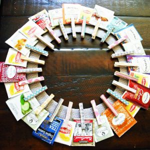 Make a Clothespin Wreath