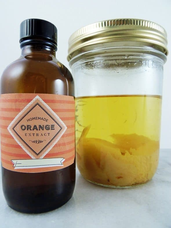 Homemade Orange Extract